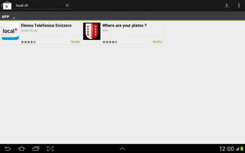 Samsung Galaxy Tab 2 10.1 - Applicazioni - Installazione delle applicazioni - Fase 6