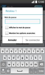 LG F70 - Internet et connexion - Accéder au réseau Wi-Fi - Étape 8