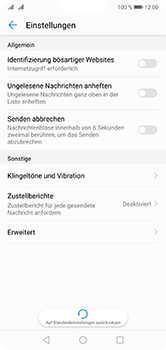 Huawei P20 Lite - SMS - Manuelle Konfiguration - Schritt 5