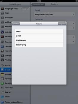 Apple iPad mini - E-mail - handmatig instellen - Stap 8