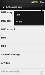 HTC Desire 500 - Internet - Manual configuration - Step 15