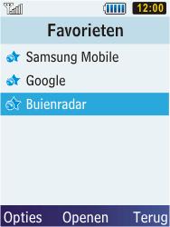Samsung C3350 Xcover 2 - Internet - Hoe te internetten - Stap 13