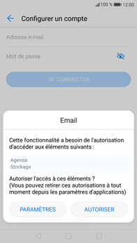 Huawei Mate 9 - E-mail - 032c. Email wizard - Outlook - Étape 5
