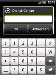 HTC A3333 Wildfire - SMS - Manuelle Konfiguration - Schritt 7