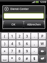 HTC Wildfire - SMS - Manuelle Konfiguration - 7 / 8