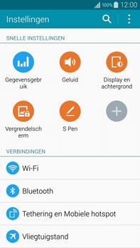 Samsung Galaxy Note 4 - wifi - handmatig instellen - stap 4