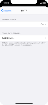 Apple iPhone 11 Pro - E-mail - Manual configuration IMAP without SMTP verification - Step 23