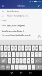 Huawei Y6 - E-Mail - E-Mail versenden - Schritt 10