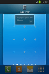 Samsung Galaxy Fame Lite - Prise en main - Installation de widgets et d