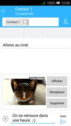 Alcatel OT-4027X Pixi 3 (4.5) - MMS - envoi d
