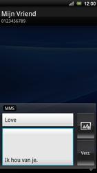 Sony Xperia Ray - MMS - Afbeeldingen verzenden - Stap 9