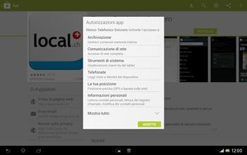 Sony Xperia Tablet Z LTE - Applicazioni - Installazione delle applicazioni - Fase 8