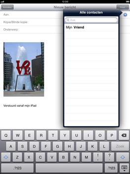 Apple iPad mini - E-mail - hoe te versturen - Stap 7