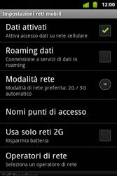 Alcatel OT-983 - Internet e roaming dati - configurazione manuale - Fase 7