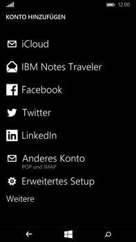 Microsoft Lumia 640 XL - E-Mail - Konto einrichten - Schritt 6