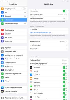 Apple iPad Pro 11 inch 2nd generation (2020) (Model A2230) - Beveiliging en ouderlijk toezicht - Hoe wijzig ik mijn SIM PIN-code - Stap 4