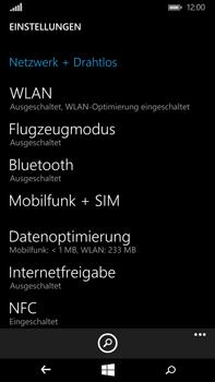 Microsoft Lumia 640 XL - WLAN - Manuelle Konfiguration - 0 / 0