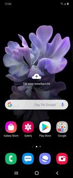 Samsung Galaxy Z Flip Single-SIM + eSIM (SM-F700F) - Instellingen aanpassen - Nieuw toestel instellen - Stap 34