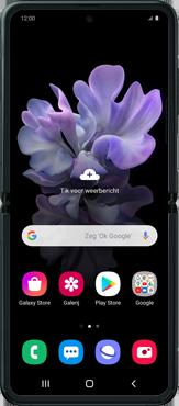 Samsung Galaxy Z Flip Single-SIM + eSIM (SM-F700F) - Internet - Handmatig instellen - Stap 30