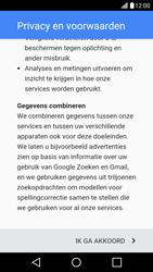 LG K10 4G - Applicaties - Account aanmaken - Stap 15