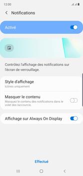 Samsung Galaxy Note10 - Sécurité - activéz le code PIN de l'appareil - Étape 11