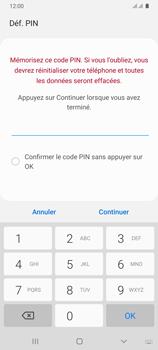 Samsung Galaxy A31 - Sécuriser votre mobile - Activer le code de verrouillage - Étape 8