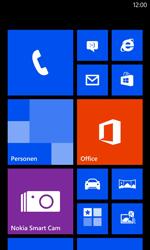 Nokia Lumia 625 - Voicemail - Handmatig instellen - Stap 1
