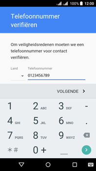 Acer Liquid Z630 - Applicaties - account instellen - Stap 8