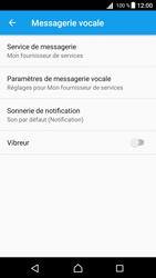 Sony Xperia Z5 - Android Nougat - Messagerie vocale - configuration manuelle - Étape 9