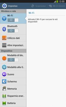 Samsung Galaxy Tab 3 8-0 LTE - Rete - Selezione manuale della rete - Fase 4