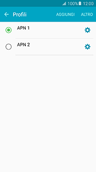 Samsung Galaxy A8 - Internet e roaming dati - Configurazione manuale - Fase 16