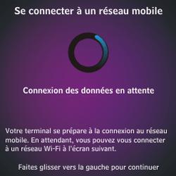 BlackBerry Q10 - Premiers pas - Créer un compte - Étape 5