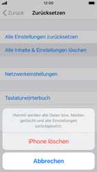 Apple iPhone SE - iOS 14 - Gerät - Zurücksetzen auf die Werkseinstellungen - Schritt 6