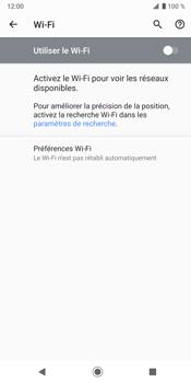 Sony Xperia XZ3 - Wifi - configuration manuelle - Étape 5