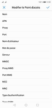 Huawei P20 Pro - Internet et roaming de données - Configuration manuelle - Étape 10