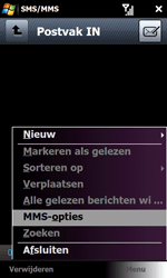 Samsung B7610 Omnia Qwerty - MMS - handmatig instellen - Stap 15
