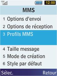Samsung C3350 Xcover 2 - MMS - Configuration manuelle - Étape 17