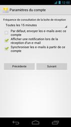 Samsung I9250 Galaxy Nexus - E-mail - Configuration manuelle - Étape 11