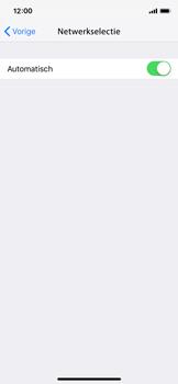 Apple iPhone X - iOS 12 - Netwerk - Handmatig een netwerk selecteren - Stap 5