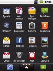 LG P350 Optimus Me - wifi - handmatig instellen - stap 3
