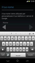 Sony Xperia V - Applicazioni - Configurazione del negozio applicazioni - Fase 5