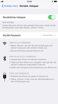 Apple iPhone 8 Plus - Internet - Mobilen WLAN-Hotspot einrichten - 1 / 1