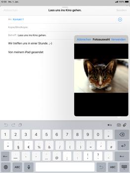 Apple iPad Mini 3 - iOS 12 - E-Mail - E-Mail versenden - Schritt 11