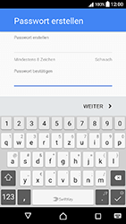 Sony Xperia X Compact - Apps - Einrichten des App Stores - Schritt 13