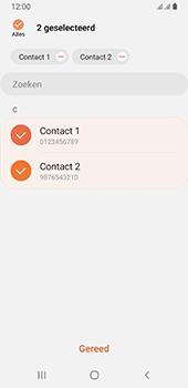 Samsung galaxy-a8-2018-sm-a530f-android-pie - Contacten en data - Contacten kopiëren van SIM naar toestel - Stap 10