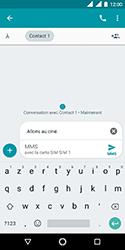 Nokia 3.1 - Contact, Appels, SMS/MMS - Envoyer un MMS - Étape 11
