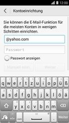Huawei Ascend Y550 - E-Mail - Konto einrichten (yahoo) - 2 / 2
