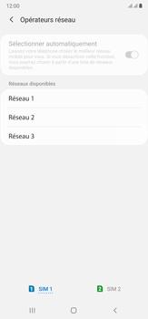 Samsung Galaxy Note 20 Ultra 5G - Réseau - Sélection manuelle du réseau - Étape 11