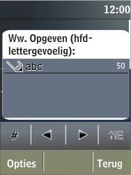Nokia X3-02 - wifi - handmatig instellen - stap 8