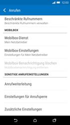 HTC One M9 - Anrufe - Rufumleitungen setzen und löschen - Schritt 5